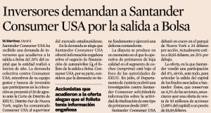 Demanda a Santander Consumer